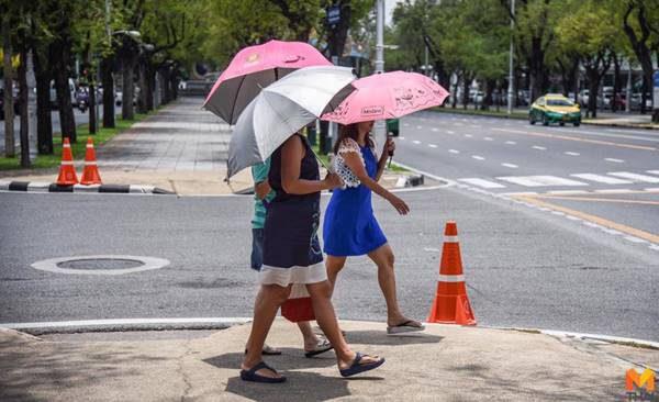 กรมอุตุฯ เผย สภาพอากาศประจำวันที่ 10 เมษายน 2562