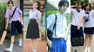 ชุดนักเรียนไทย กำลังฮิตในจีน! จากกระแสซีรีส์ เด็กใหม่ ซีซั่น 2
