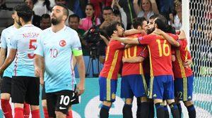 ผลบอล : ขาดสุดในยูโร2016! โมราต้า เบิ้ลสองตุงพา สเปน เขี่ย ตุรกี ทะลุน็อคเอาท์ตามนัด