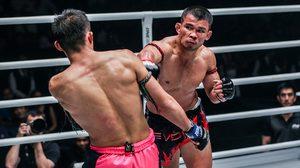 น้องโอ๋ ยก เสมาเพชร อึดสุดๆ แม้ตนจะชนะน็อคป้องกันแชมป์มวยไทย ONE ได้ก็ตาม
