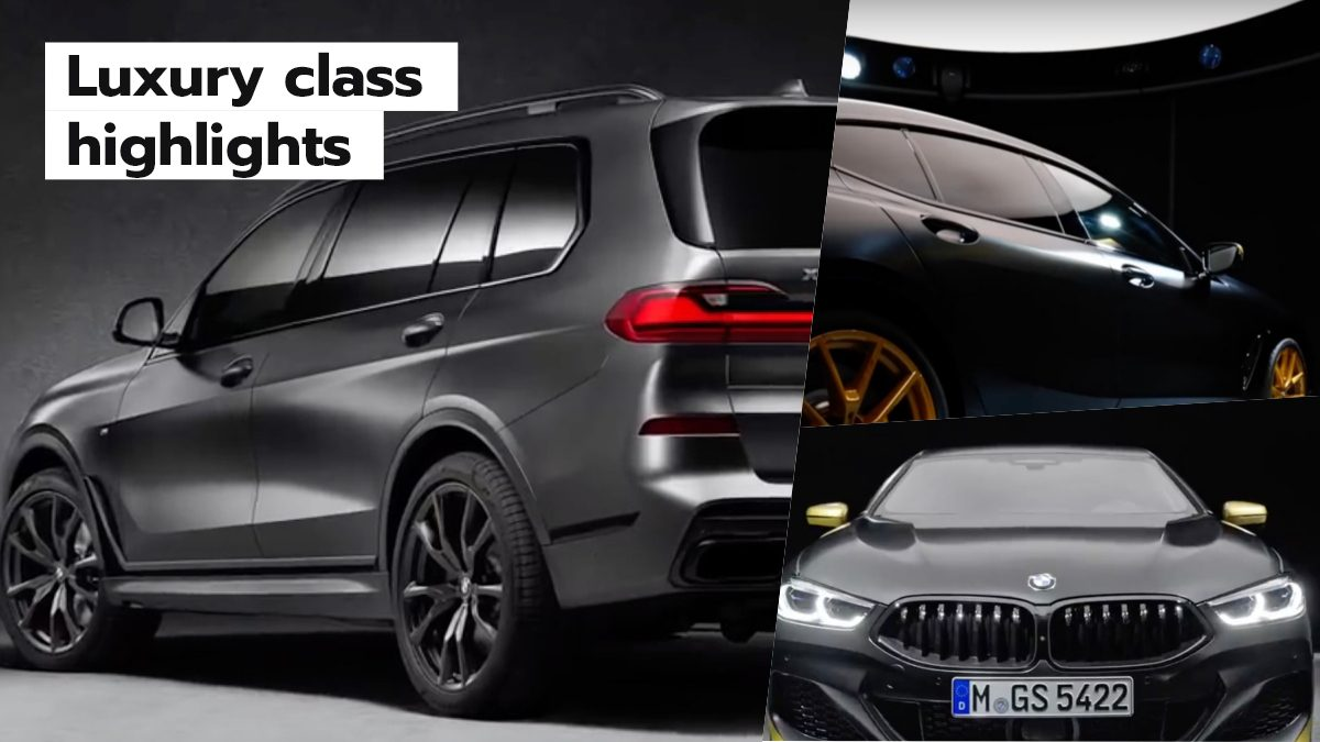 เลือกไม่ถูก BMW คันพิเศษสุดวีไอพี แค่จอดเฉยๆ ก็เปล่งออร่าจนต้องเหลียว