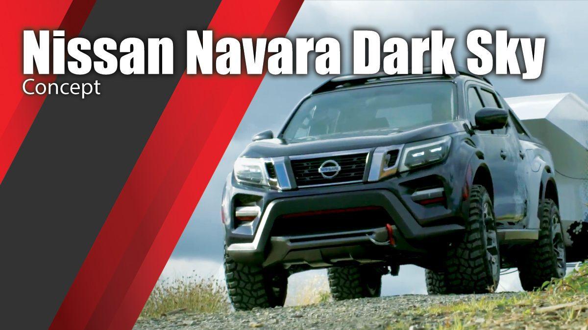 Nissan Navara Dark Sky - Concept