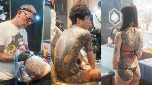 พาเดินชม Thailand Tattoo Expo 2019 งานเพื่อคนรักรอยสักและศิลปะบนเรือนร่าง