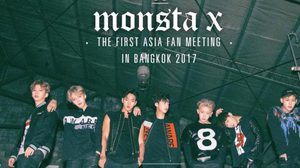 MONSTA X The First Asia Fan Meeting in Bangkok 2016