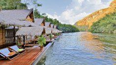 เที่ยวกาญจนบุรี และเข้าพัก 5 อันดับโรงแรมชั้นนำในไทย