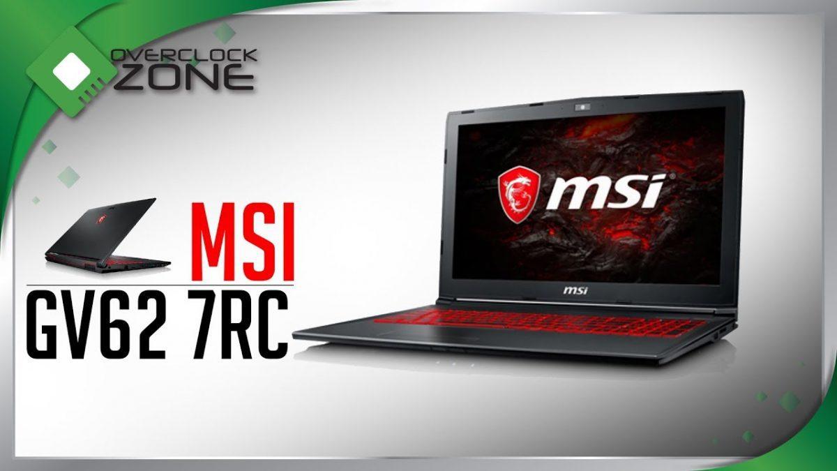 รีวิว MSI GV62 7RC : Gaming Notebook ราคาชิว ดีไซน์สวย