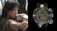 นาฬิกาแรมโบ้!! Richard Mille x Sylvester Stallone ผลิต 20 เรือนบนโลกพร้อมราคากระอักเลือด