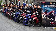 Yamaha เปิดประสบการณ์ทดสอบการขับขี่ Yamaha Exciter 150