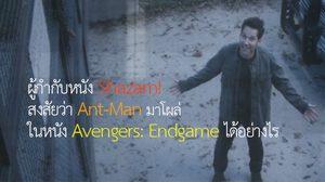 ผู้กำกับหนัง Shazam! สงสัยว่า Ant-Man ถึงมาโผล่ในหนัง Avengers: Endgame ได้อย่างไร