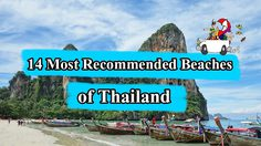 14 Most Recommended Beaches of Thailand in the coming High Season
