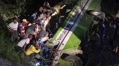 อุบัติเหตุรถโดยสารไถลตกหุบเขาในฟิลิปปินส์