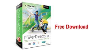 Cyberlink แจกโปรแกรมตัดต่อวีดีโอแท้ ฟรี PowerDirector 15 Deluxe เวลาจำกัด