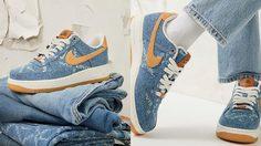 กลับมาอีกครั้ง Nike x Levi's กับ Levi's by You สนีกเกอร์ผ้ายีน แบบคูลๆ