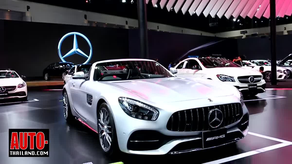 เมอร์เซเดส-เบนซ์ ขนทัพ 5 รุ่นใหม่ พร้อมเปิดตัวแบรนด์ Mercedes-AMG เป็นครั้งแรก ในงาน Motor Expo 2017