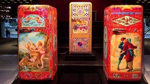 เมื่อสีสันจัดจ้านของ Dolce&Gabbana มาอยู่บนตู้เย็น SMEG