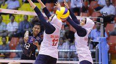 นักตบสาวไทย อัด อิหร่าน 3 เซตรวด ฉลุยรอบ 8 ทีม ในฐานะแชมป์กลุ่ม ลูกยาง เอวีซี คัพ 2016
