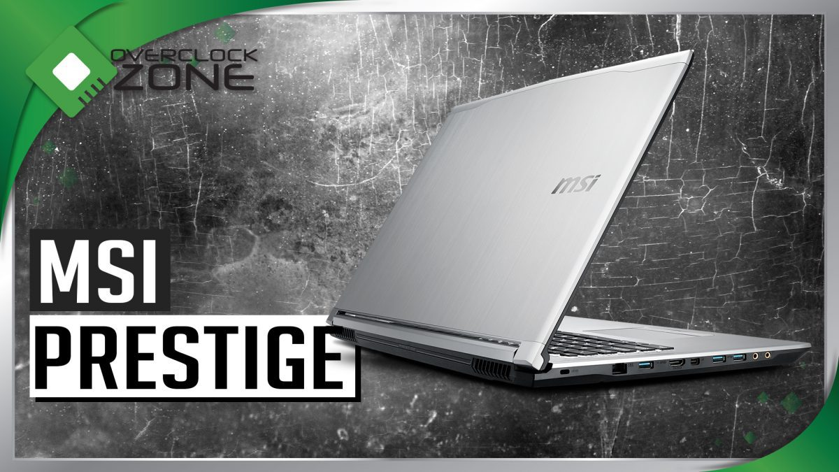 รีวิว MSI PL60-7RD Prestige : Notebook