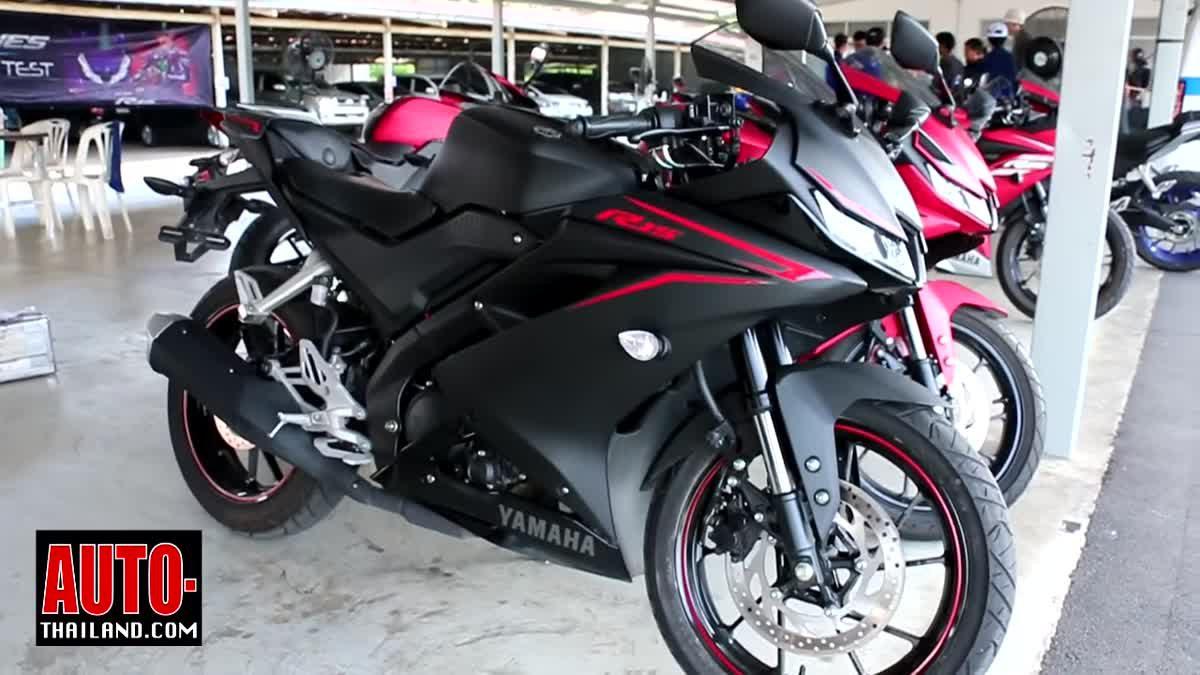 ทดลองขับขี่ Yamaha YZF-R15 น้องเล็กในตระกูล R-Series กับกิจกรรม R-Series Exclusive Test