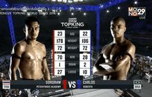 คู่ที่ 1 Super Fight : Carlos Roberto VS เซาะกราว เพชรยินดี อคาเดมี่