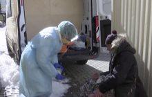 คนไร้บ้านในรัสเซียเผชิญความลำบากในช่วงล็อกดาวน์