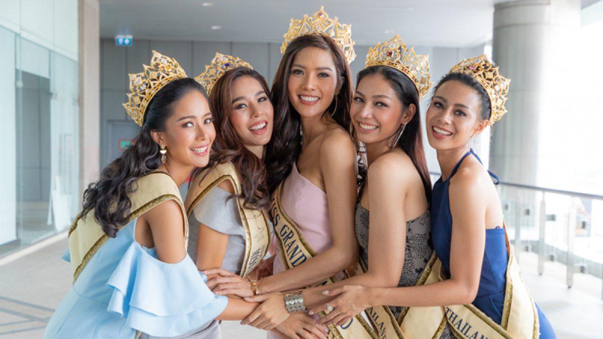 ย้อนโมเมนต์วินาทีสุดท้าย 5 สาวมิสแกรนด์ไทยแลนด์ 2018 ตื่นเต้นแค่ไหน