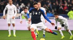 ผลบอล : ฝรั่งเศส vs อุรุกวัย !! ชิรูด์ ซัดโทษพา ตราไก่ เฝ้ารังเผาเครื่อง จอมโหด 1-0