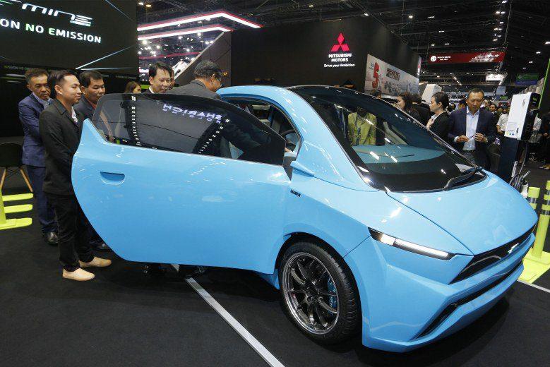 บริษัทพลังงานบริสุทธิ์ เปิดตัว Mine Mobility รถยนต์ไฟฟ้าฝีมือคนไทย