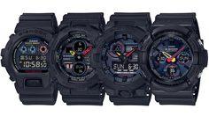 G-SHOCK Black x NEO Tokyo Series นำเสนอสีสันจากอนิเมชั่นชื่อดัง ผ่านนาฬิกา 4 รุ่น!!