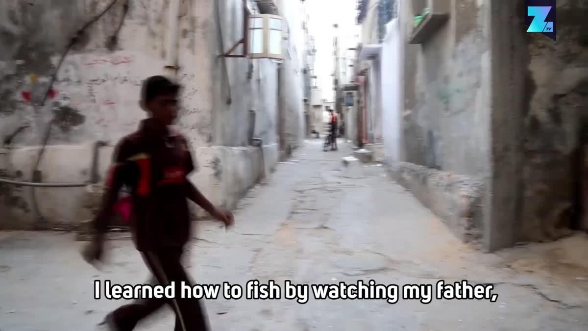 Gaza's youngest fisherman
