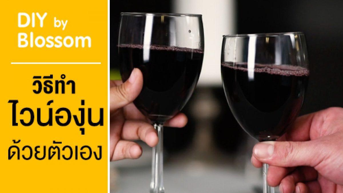 มาลองทำไวน์องุ่นกัน
