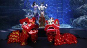 ซีไลฟ์ฯ ต้อนรับวันตรุษจีน เชิดสิงโต โชว์นางเงือก พร้อมแจกอั่งเปาคนเกิดปีหมู