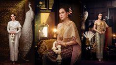 แหม่ม-คัทลียา สวมชุดไทยสุดสวย