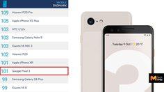 คะแนนกล้อง Google Pixel 3 ขึ้นแท่นสมาร์ทโฟนกล้องเดี่ยวที่ดีสุดเทียบเท่า iPhone XR