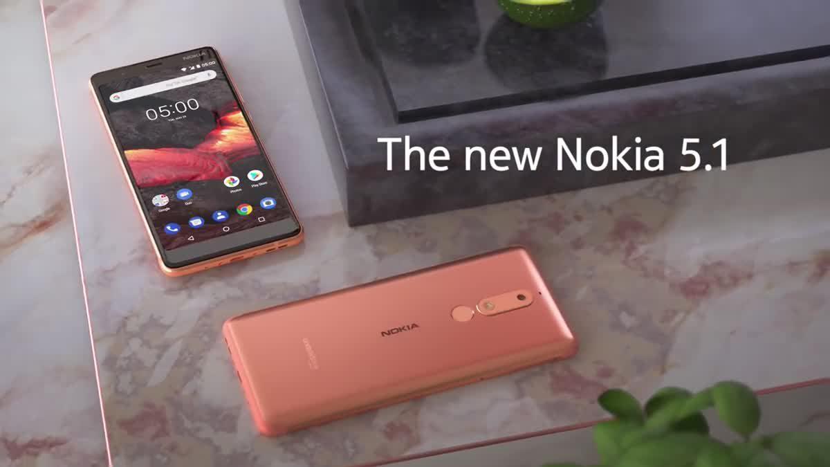 new Nokia 5 จอ 5.5 นิ้ว ดีไซน์งดงงามในราคาน่าคบหา
