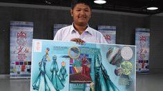นักเรียน ม. 6 ชนะการประกวดออกแบบ ชุดราตรี ให้ ไดร์ จิณณ์ณิตา สวมใส่ ไปประกวด มิสเวิลด์ 2016