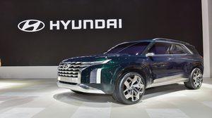 รถต้นแบบ Hyundai HDC-2 Grandmaster concept SUV เรือธง ปรากฏตัวที่ เกาหลี