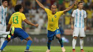 ผลบอล : บราซิล vs อาร์เจนติน่า !! มิราด้า โขกทดเจ็บ แซมบ้า เริงร่าขย้ำ ฟ้าขาว 1-0