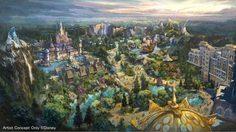 Tokyo DisneySea เปิดโซนใหม่ธีม Frozen-Tangled-Peter Pan รอชมปี 2022