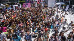 สนุกสุดเหวี่ยง! ปาตี้โฟมใหญ่สุดใจกลางเมืองกรุงฯ