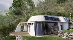 เชื่อไหม! ที่คุณเห็นอยู่นี่คือ บ้านรีไซเคิล นำขยะมาสร้างบ้านต้นทุนต่ำ