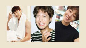 ดาราชายเกาหลียิ้มสวย
