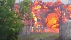 ระทึก! โรงไฟฟ้าแรงสูงรัสเซียระเบิด คน 1.5 แสนขาดไฟใช้