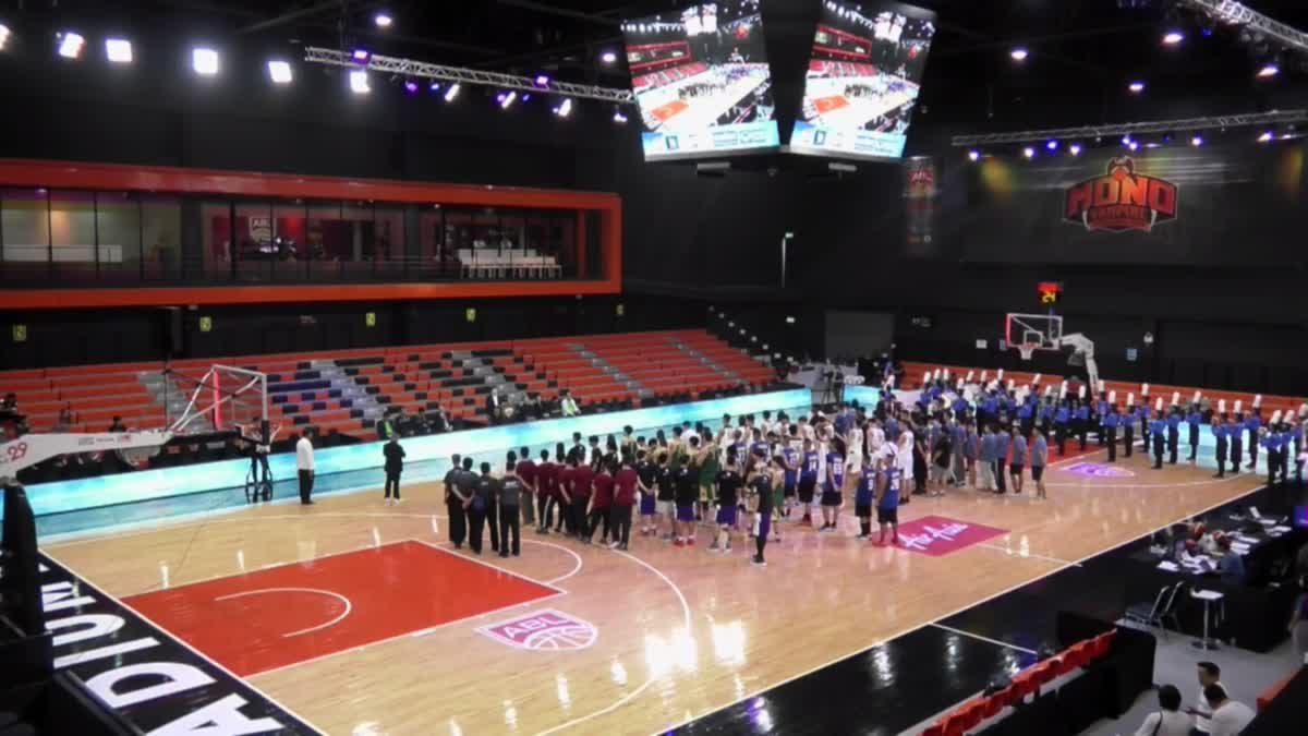 พิธีเปิดการเเข่งขันบาสเกตบอล Thailand Open 2017 ณ สนาม Stadium29