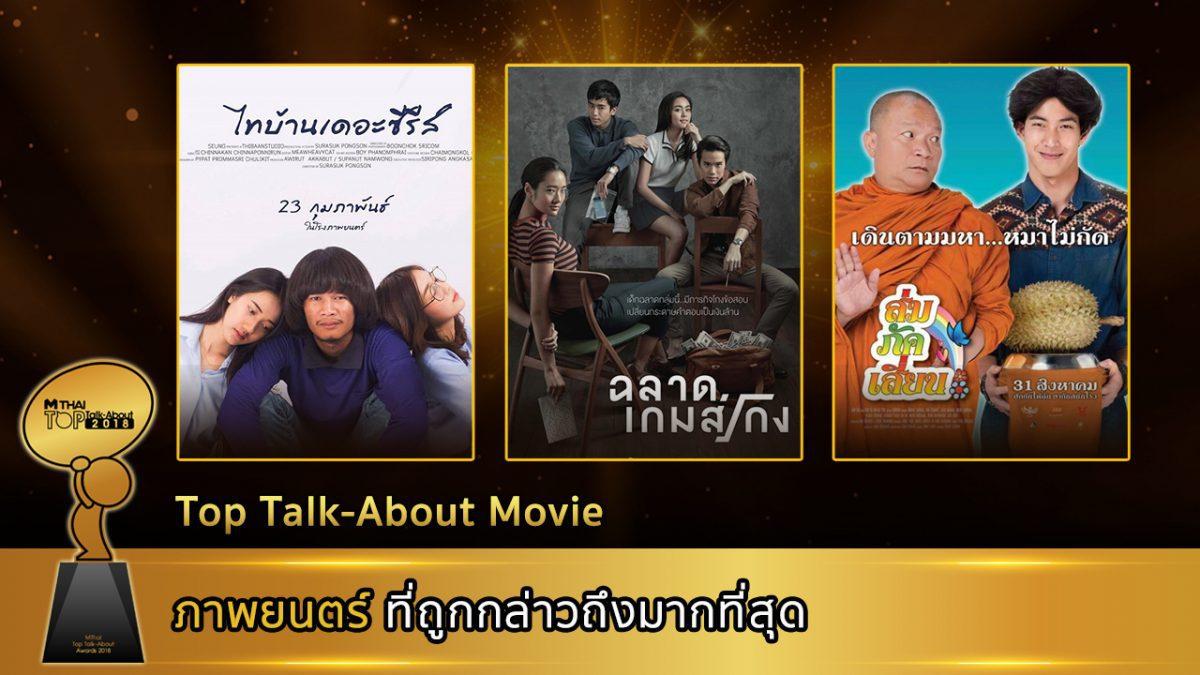 ประกาศรางวัลที่ 6 Top talk about Movie