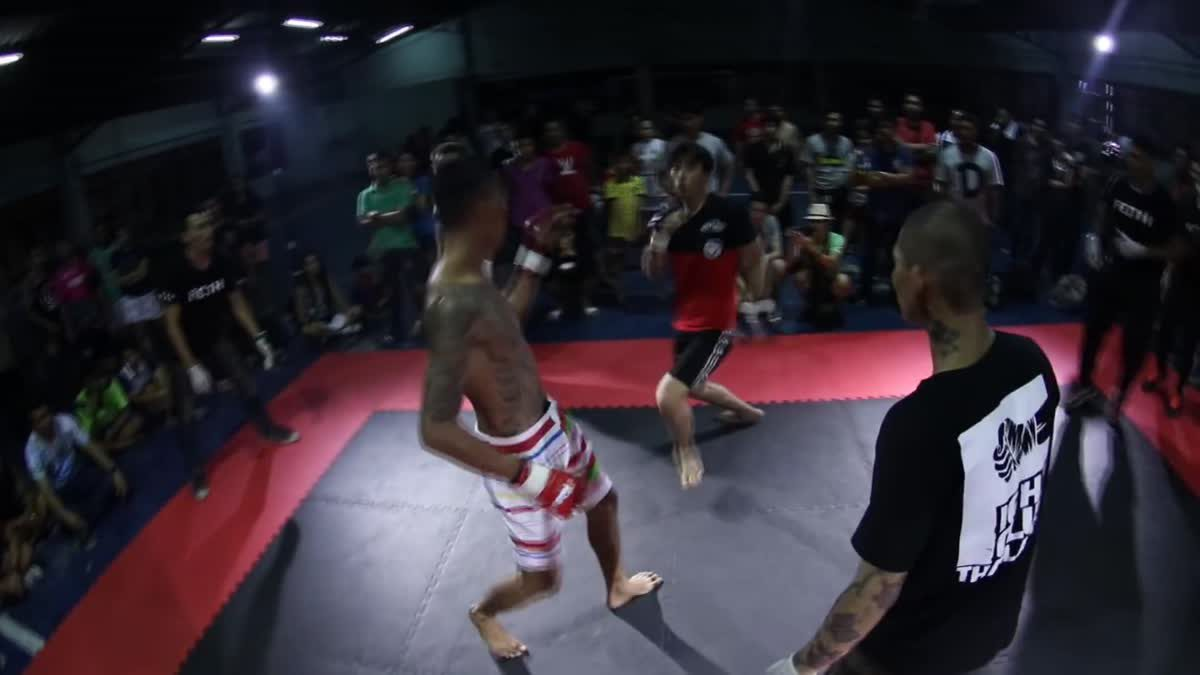 Fight Club Thailand ใต้ดิน ตอง x ศรีแพร คู่ที่ 116