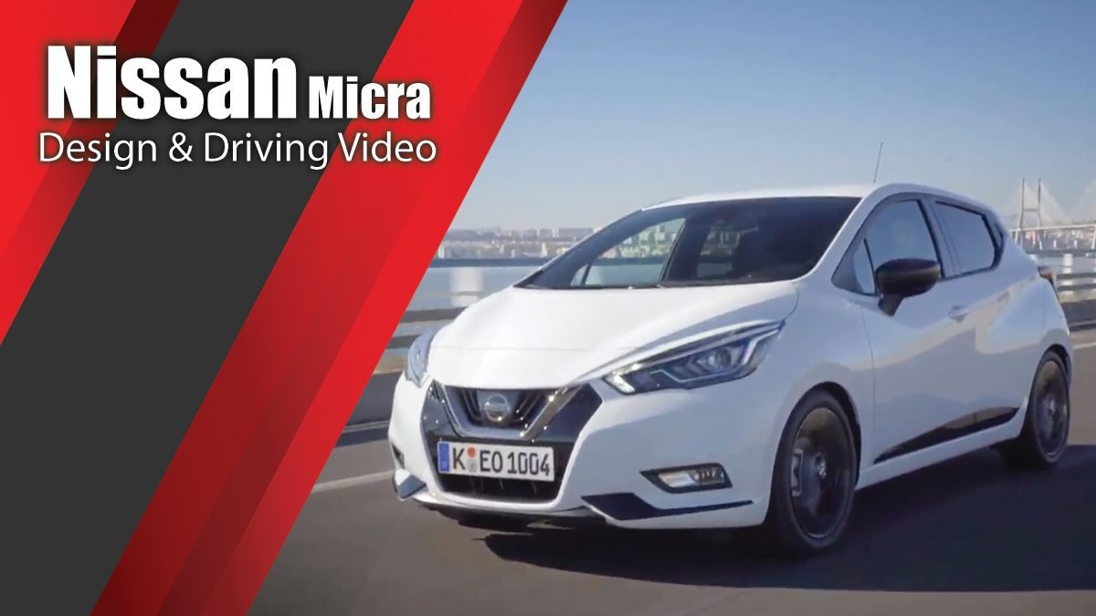 The new Nissan Micra in White Design & Driving Video