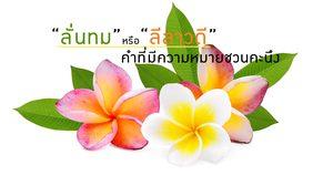 เกร็ดความรู้เรื่อง คำที่มีความหมายชวนคะนึง - ภาษาไทย