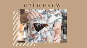 กาแฟสกัดเย็น หรือ Cold Brew