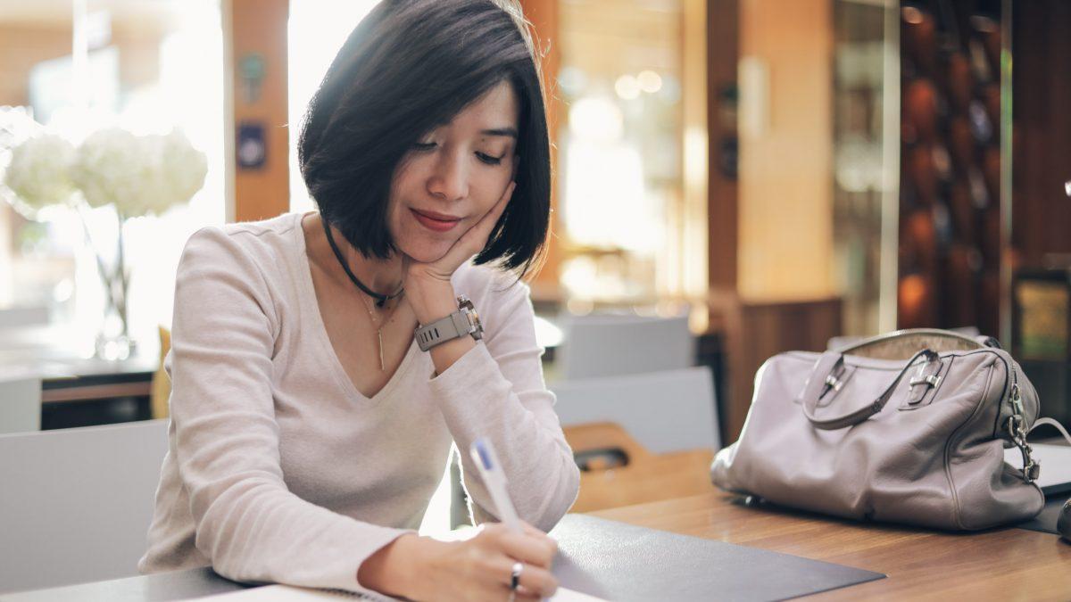 คิดบวกกับตัวเอง ด้วยจดหมายหนึ่งฉบับ | จีนา จีนาฟู | ใจบันดาลแรง