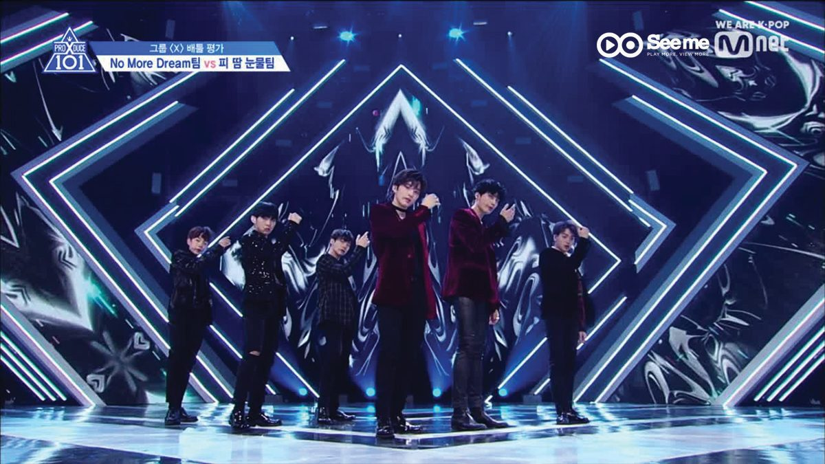 PRODUCE X 101 ㅣทีม PDX - BTS ♬(BLOOD SWEAT & TEARES)' @การแข่งขันรอบ Group Battle [EP.4]